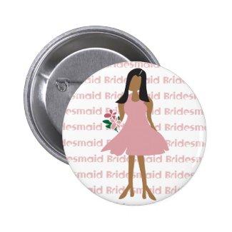 Ethnic Bridesmaid Favors Button