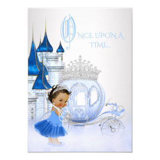 Ethnic Cinderella Once Upon a Time Princess Card