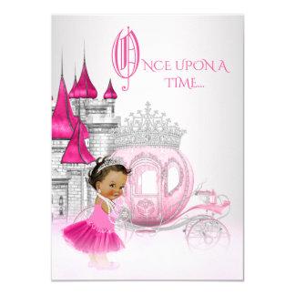 Ethnic Cinderella Princess Birthday Party Card