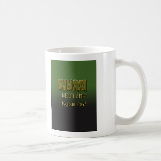Ethnic Classic newton law of motion Coffee Mug