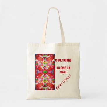 Beach Themed ETHNIC CULTURE TOTE BAG
