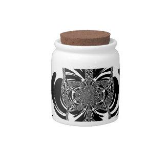 Ethnic Design Candy Jars