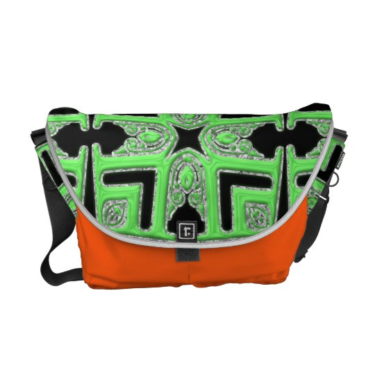 Ethnic Design Messenger Bag