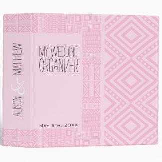 Ethnic Design Wedding Organizer Planner Binder #2
