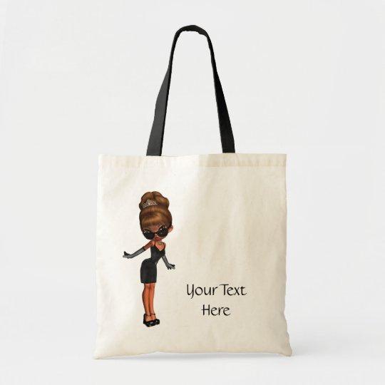 Ethnic Diva Princess Tote Bag