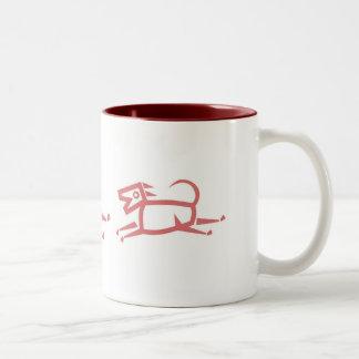 Ethnic Dog Mug