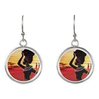 Ethnic earrings! earrings