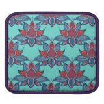 Ethnic flower lotus mandala ornament iPad sleeve