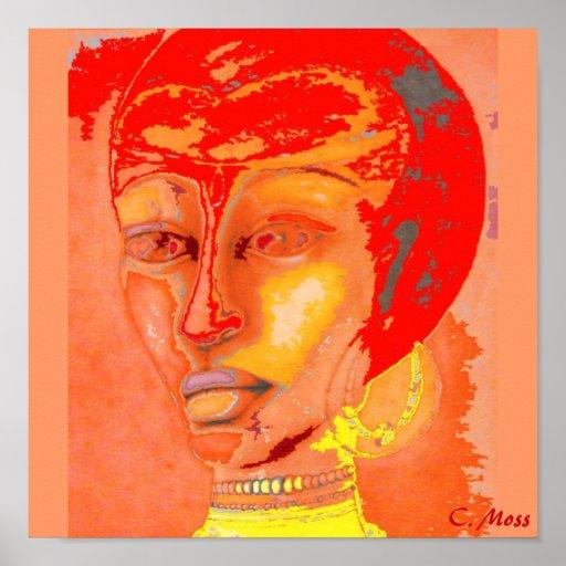 """Ethnic Funk"" Canvas print"