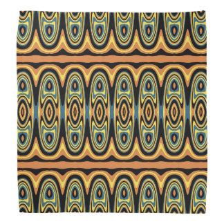 Ethnic geometric pattern bandana