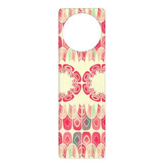 Ethnic geometric pattern door hanger