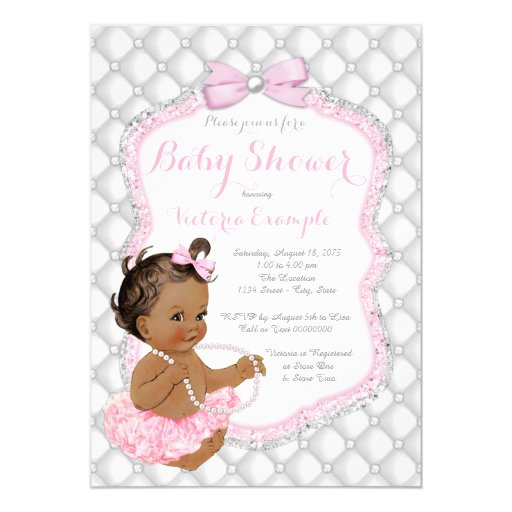 Invitations For Baby Shower Girl was luxury invitation template