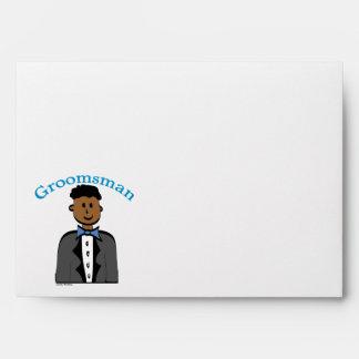 Ethnic Groomsman Envelope