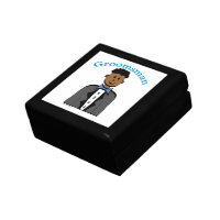 Ethnic Groomsman Gift Box