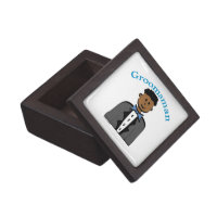 Ethnic Groomsman Jewelry Box