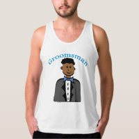 Ethnic Groomsman Tank Top