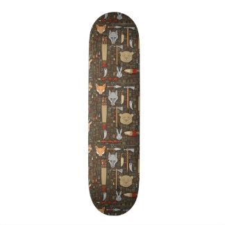 Ethnic Hunting Pattern Skateboard Deck