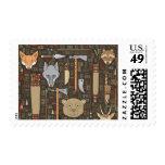 Ethnic Hunting Pattern Stamp