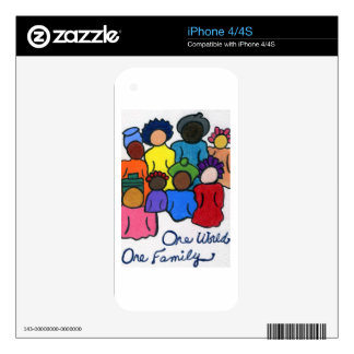 Ethnic, Interracial, Multicultural Skins For iPhone 4