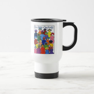 Ethnic, Interracial, Multicultural Travel Mug