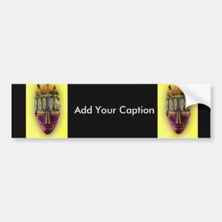 Ethnic Mask - Africa Bumper Sticker