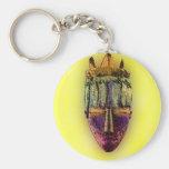 Ethnic Mask - Africa Key Chain