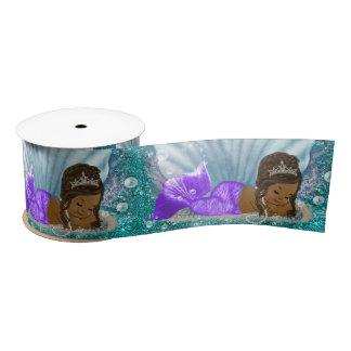 Ethnic Mermaid Baby Shower Ribbon