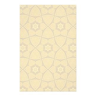 Ethnic modern geometric pattern stationery