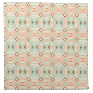 Ethnic Moroccan Motifs Seamless Pattern 18 Napkin