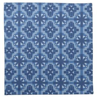Ethnic Moroccan Motifs Seamless Pattern 2 Cloth Napkin