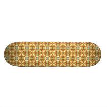 Ethnic Moroccan Motifs Seamless Pattern 6 Skateboard
