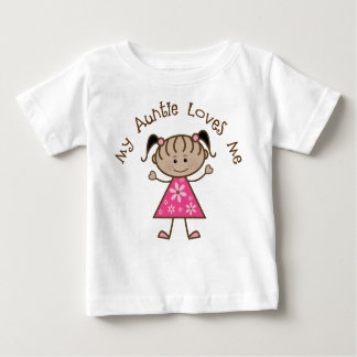 Ethnic My Aunt Loves Me Gift Baby T-Shirt
