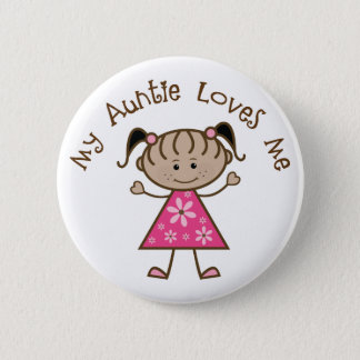 Ethnic My Aunt Loves Me Gift Button