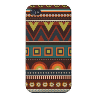 Ethnic Native American Indian Pattern iPhone 4 Cas iPhone 4 Covers