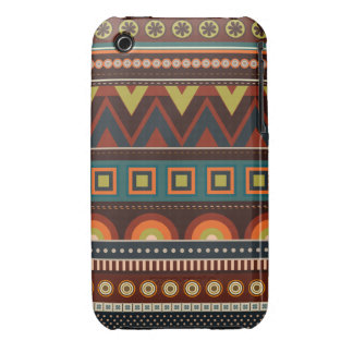 Ethnic Native Indian Pattern iPhone 3 Case