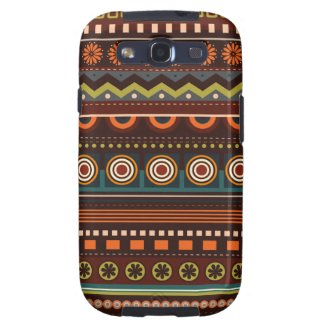Ethnic Native Indian Pattern Samsung S3 Case Galaxy SIII Cases