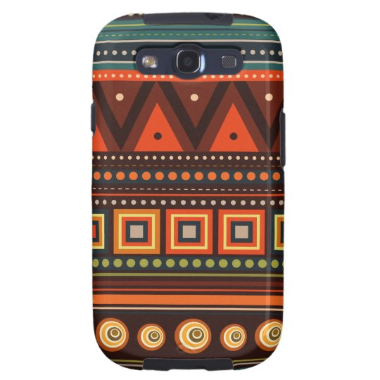 Ethnic Native Indian Pattern Samsung S3 Case