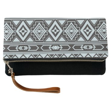 Aztec Themed Ethnic pattern american traditional ornament clutch