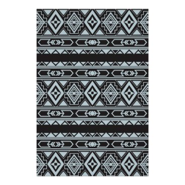 Aztec Themed Ethnic pattern american traditional ornament poster