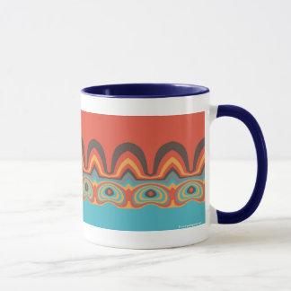Ethnic pattern mug