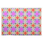 Ethnic Pattern with Moroccan Motifs Cloth Placemat