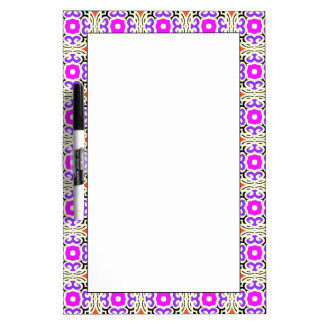 Ethnic Pattern with Moroccan Motifs Dry-Erase Board
