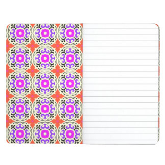 Ethnic Pattern with Moroccan Motifs Journal