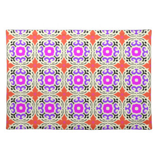 Ethnic Pattern with Moroccan Motifs Placemat