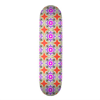 Ethnic Pattern with Moroccan Motifs Custom Skateboard