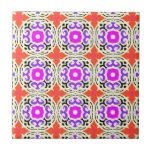 Ethnic Pattern with Moroccan Motifs Tiles