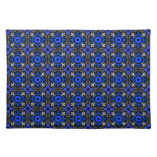 Ethnic Pattern with Turkish Motifs Cloth Place Mat