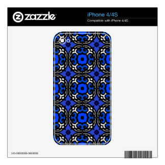 Ethnic Pattern with Turkish Motifs Decals For iPhone 4