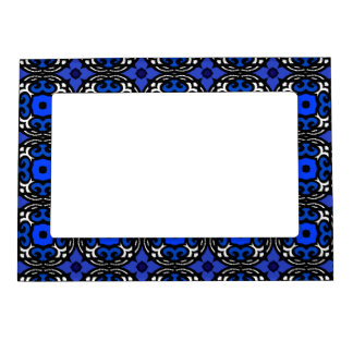 Ethnic Pattern with Turkish Motifs Magnetic Frame