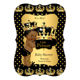 black and gold baby shower invitations announcements zazzle